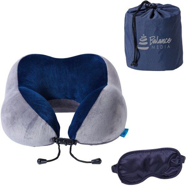 AeroLOFT™ Business First Travel Pillow & Sleep Mask Set