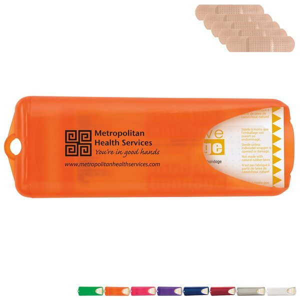 Contemporary Bandage Dispenser with Standard Bandages