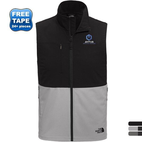The North Face® Castle Rock Polyester Soft Shell Men's Vest