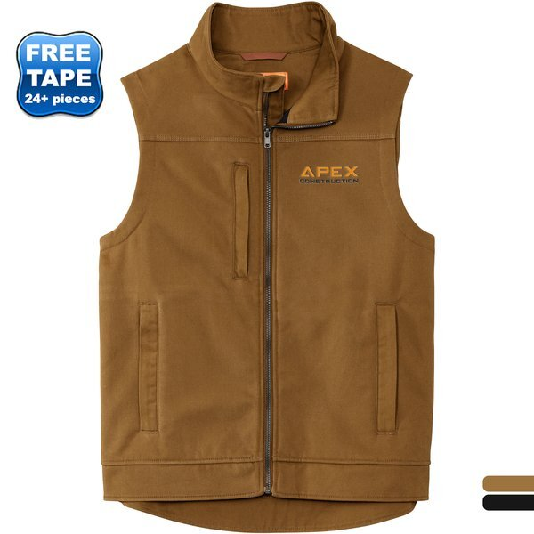 CornerStone® Duck Bonded Soft Shell Men's Vest