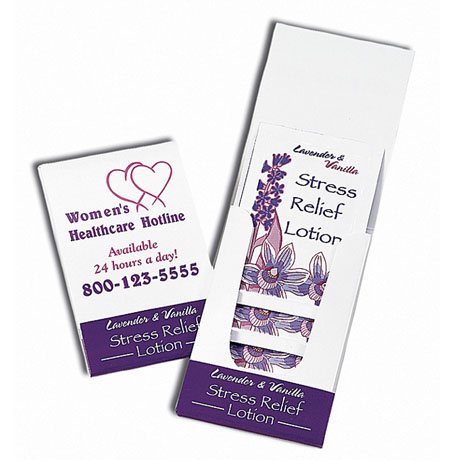 Relax Lavender & Vanilla Lotion Pocket Pack