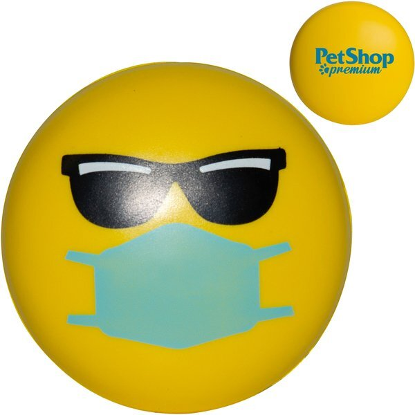 Cool Emoji PPE Mask Stress Reliever