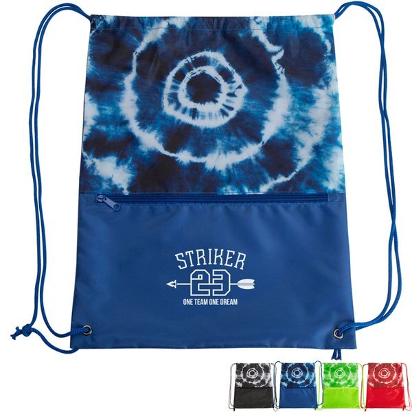 Tie Dye Drawstring Polyester Sports Pack