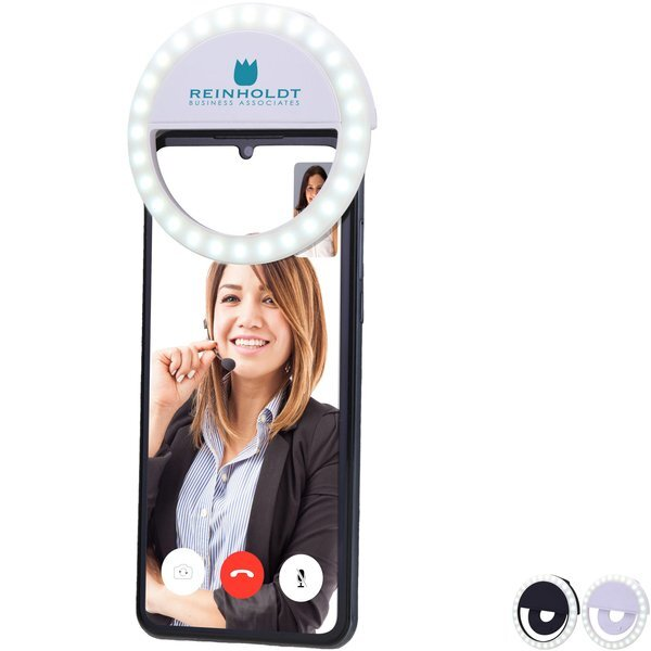 Cell Phone Clip-On Ring Light