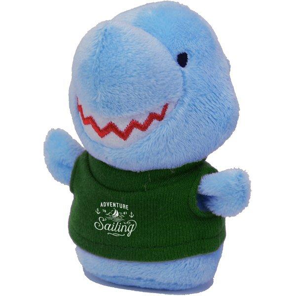 """Shorties Plush Shark, 4"""""""