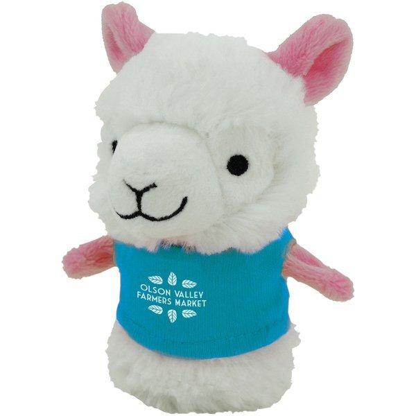 """Shorties Plush Llama, 4"""""""