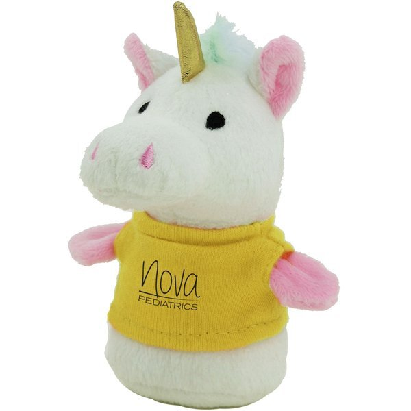 Shorties Plush Unicorn, 4""