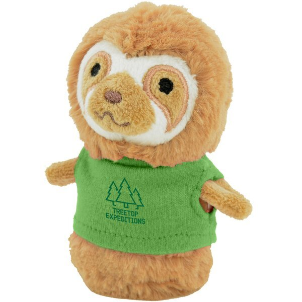 Shorties Plush Sloth, 4""