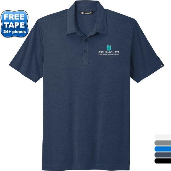 TravisMathew® Oceanside Cotton/Poly Solid Men's Polo