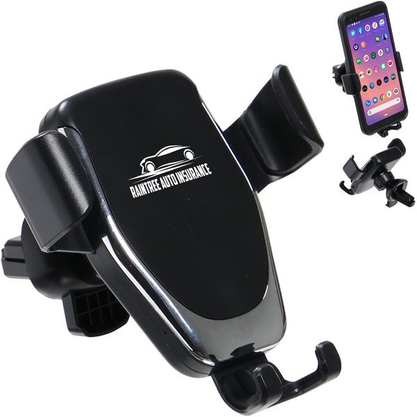 Auto Vent Dashboard 10W Wireless Charger & Phone Holder