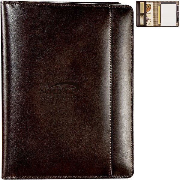 Cutter & Buck® American Classic Leather Jr. Writing Pad