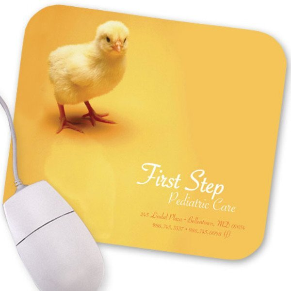 Baby Chick Design, Full Color Mouse Pad