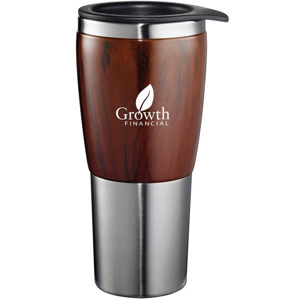 Bosque Burl Wood Veneer Tumbler, 16oz.
