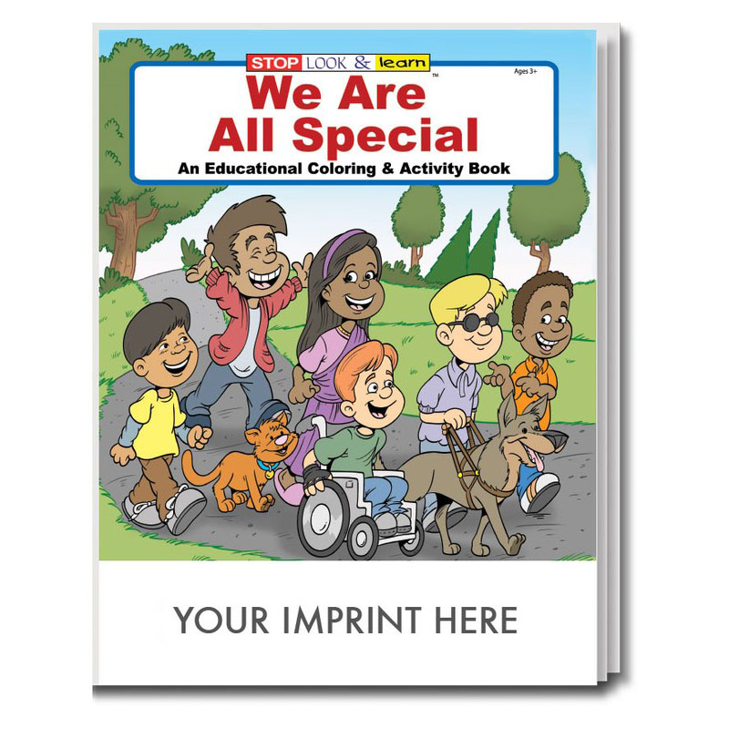 We Are All Special Coloring & Activity Book