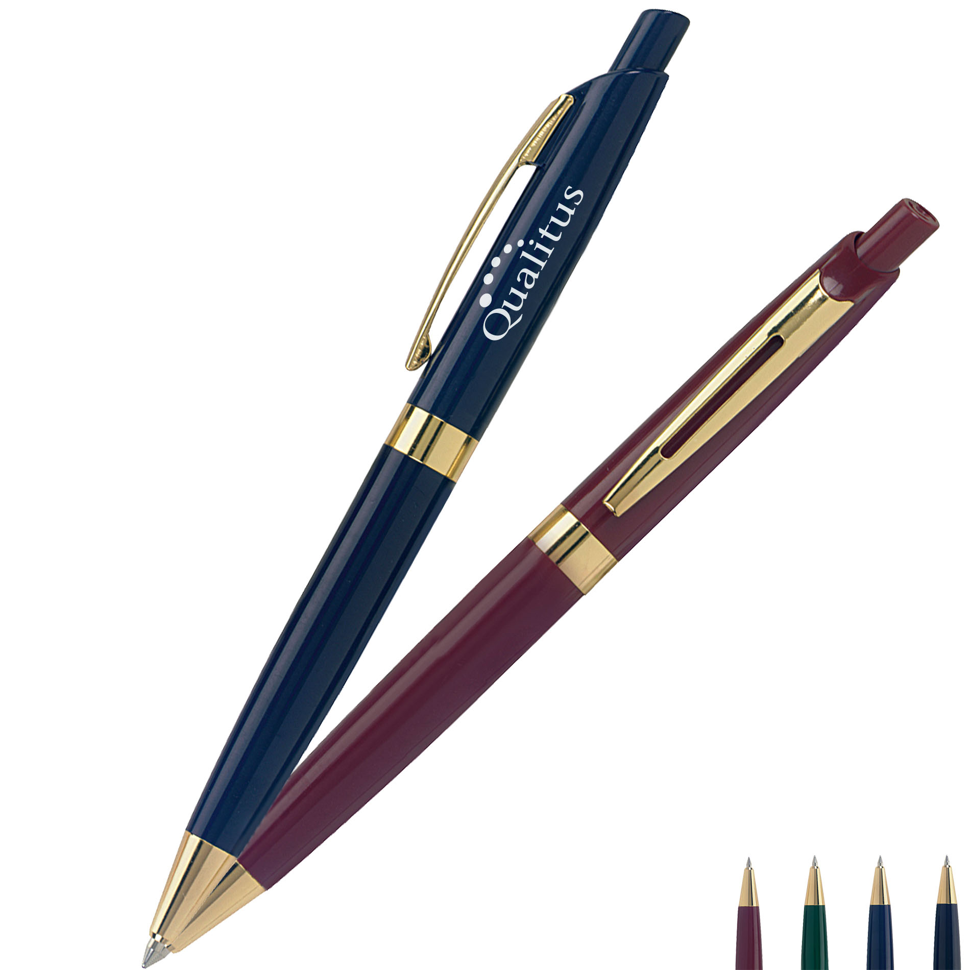 Rival Gold Accent Ballpoint Pen