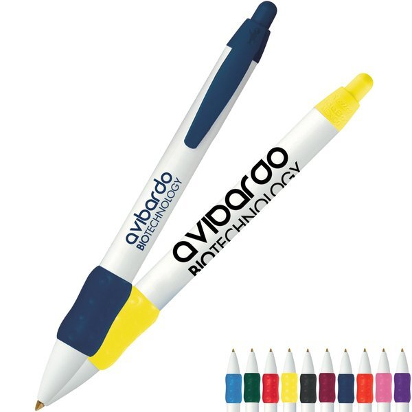 BIC® WideBody® with Color Grip Refillable Pen