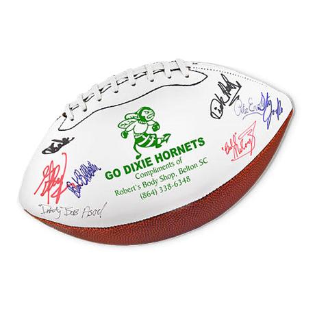 "Full Size Signature Football, 14"""