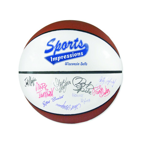 Full Size Signature Basketball, 29-1/2""