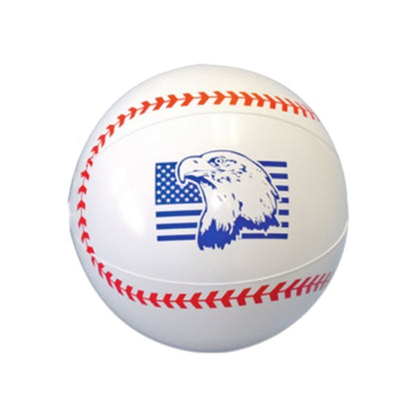 Sport Beach Ball - Baseball, 9""