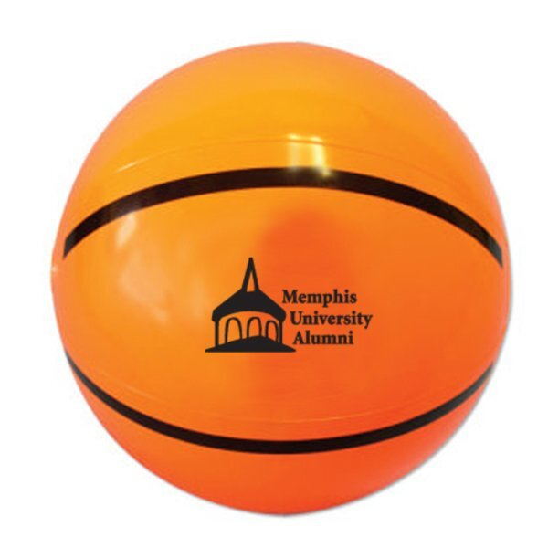 Sport Beach Ball - Basketball, 16""