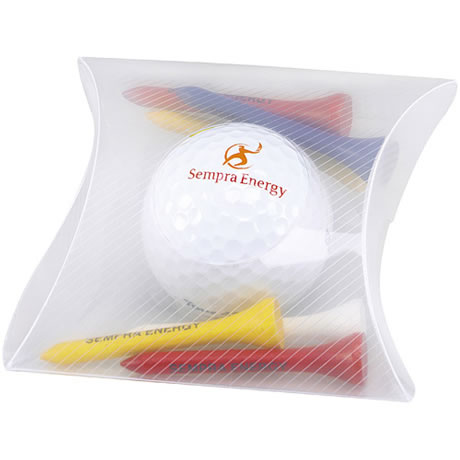 Pillow Pack with Titleist<sup>®</sup> DT<sup>®</sup> Roll Golf Ball