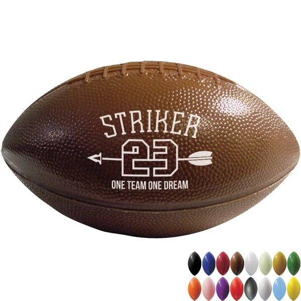 Mini Plastic Football, 6""