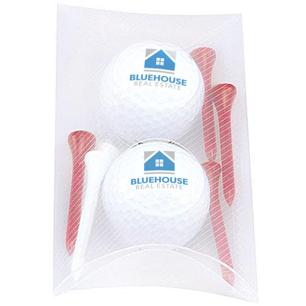 Pillow Pack w/ 2 Titleist<sup>®</sup> DT<sup>®</sup> Roll Golf Balls