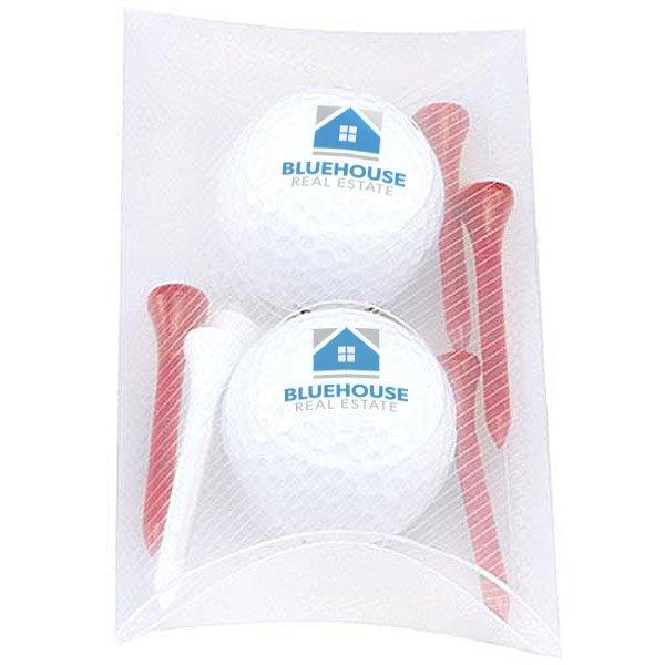 Pillow Pack w/ 2 Titleist® DT TruSoft™ Roll Golf Balls