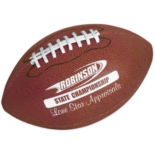 """Full Size Synthetic Leather Football, 14"""""""