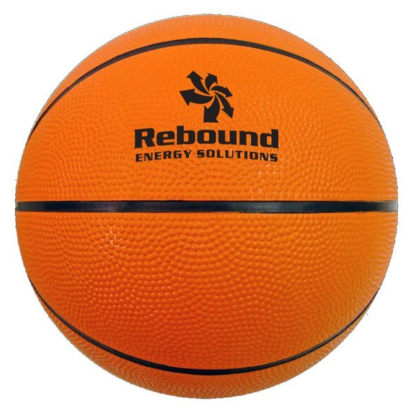 Large Rubber Basketball, 29-1/2""