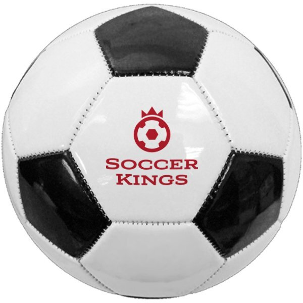 Full Size Synthetic Leather Soccer Ball, Size 5