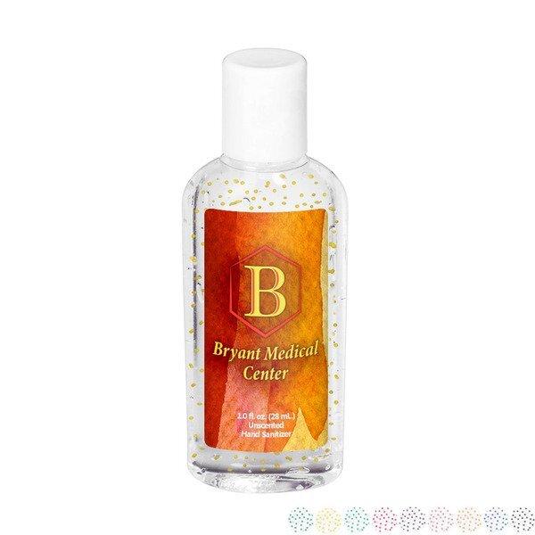 Moisture Bead Hand Sanitizer in Oval Bottle, 1oz., Full Color Imprint