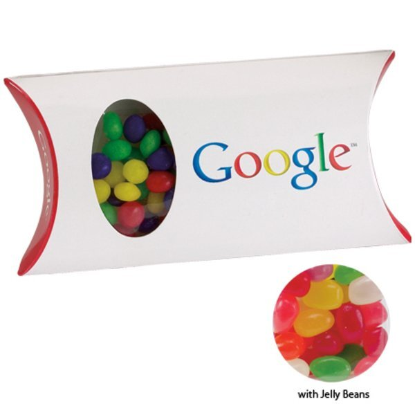 Jelly Beans in a Custom Pillow Box, 1.5oz.