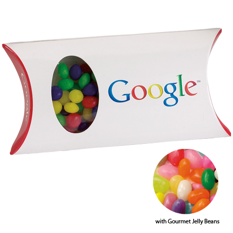 Gourmet Jelly Beans in a Custom Pillow Box, 1.5oz.