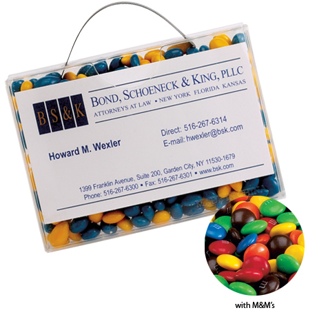 M&M's® Candy Briefcase