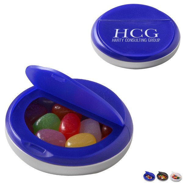 Snap Top Candy Case with Assorted Jelly Beans