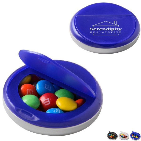 Snap Top Candy Case with Plain M&M's®