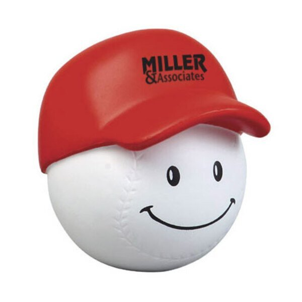 Baseball Mad Cap Stress Reliever