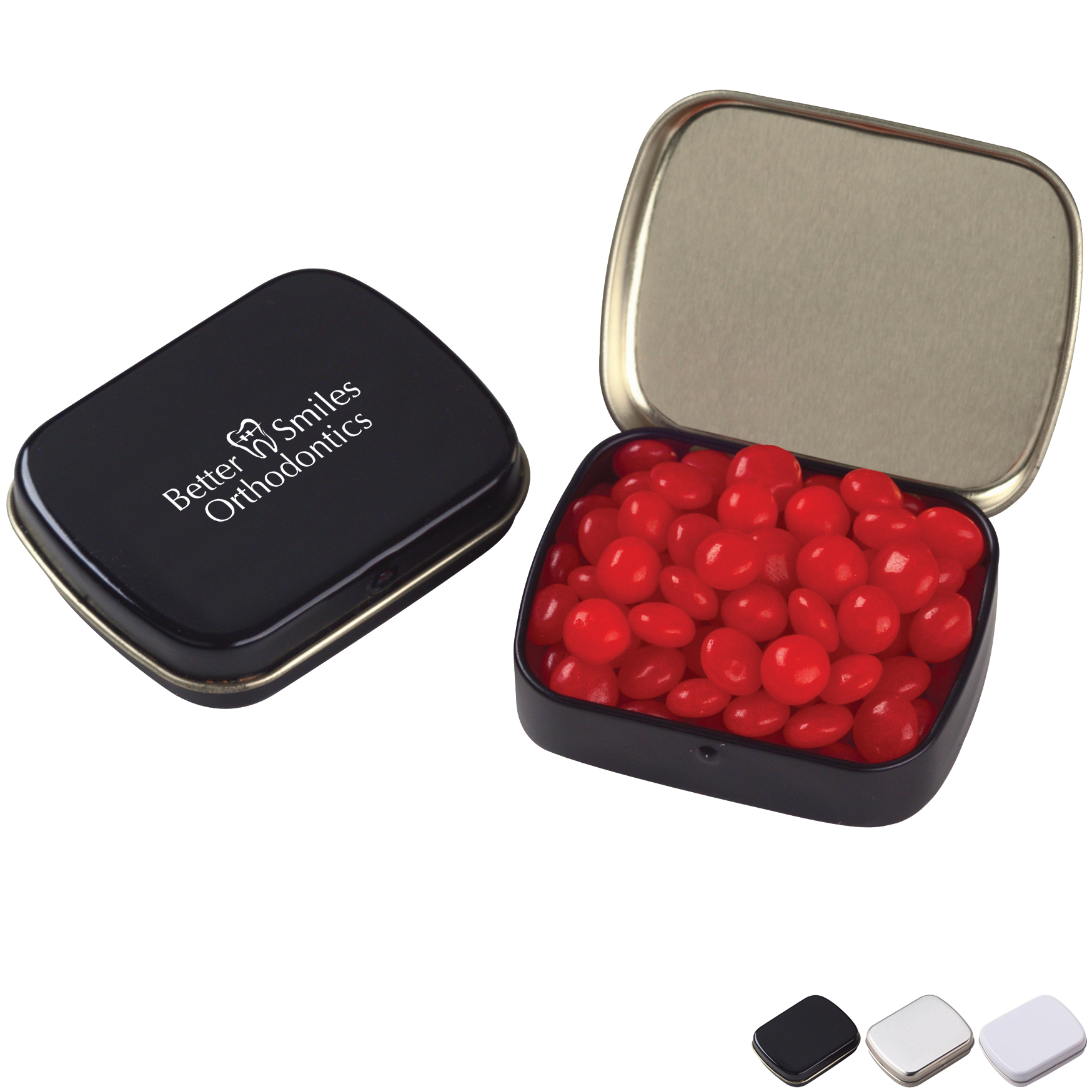 Red Hots or White Mints in a Tin, Small