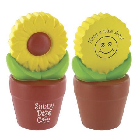 Sunflower Pot Stress Reliever