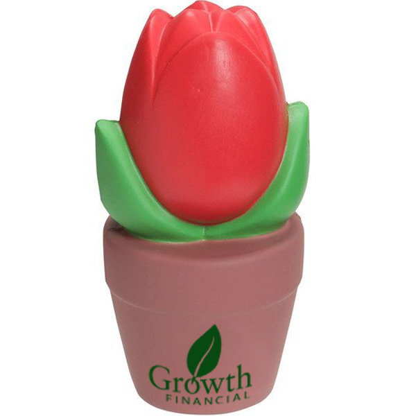 Tulip Pot Stress Reliever