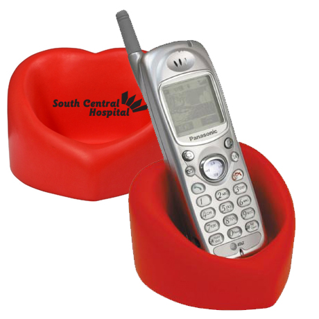 Valentine Heart Cell Phone Holder Stress Reliever
