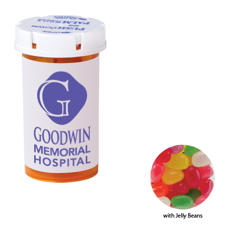 Jelly Beans in a Small Pill Bottle