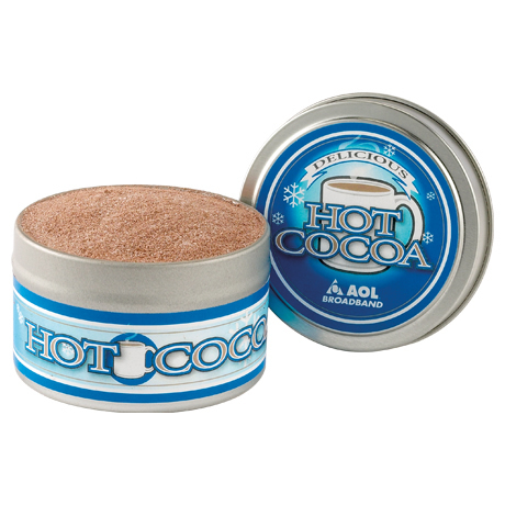 Gourmet Hot Chocolate in a Small Tin