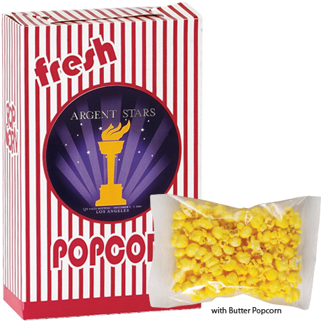 Butter Popcorn Box