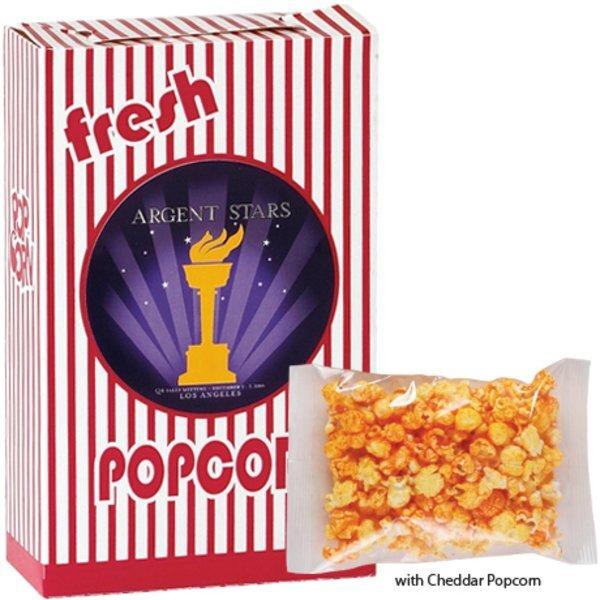 Cheddar Popcorn Box