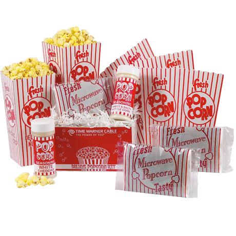 Deluxe Microwave Popcorn Kit