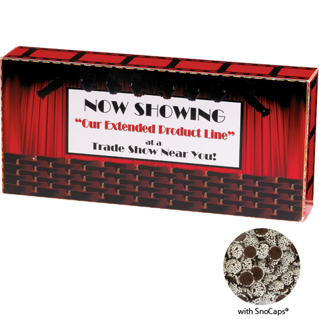 Sno Caps® Custom Movie Theater Candy Box, 3.9oz.
