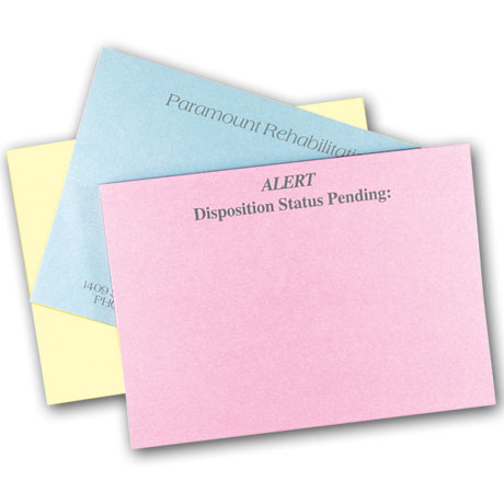 "Pastel Colored 50 Sheet Adhesive Note Pads, 4"" x 3"""