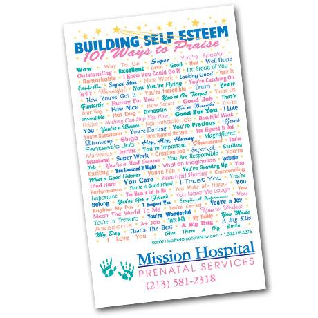 Healthy Message Magnet™, Kid's Self Esteem